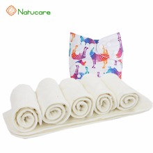 Multi-purpose100% Bamboo Reusable Baby Cloth Wipes