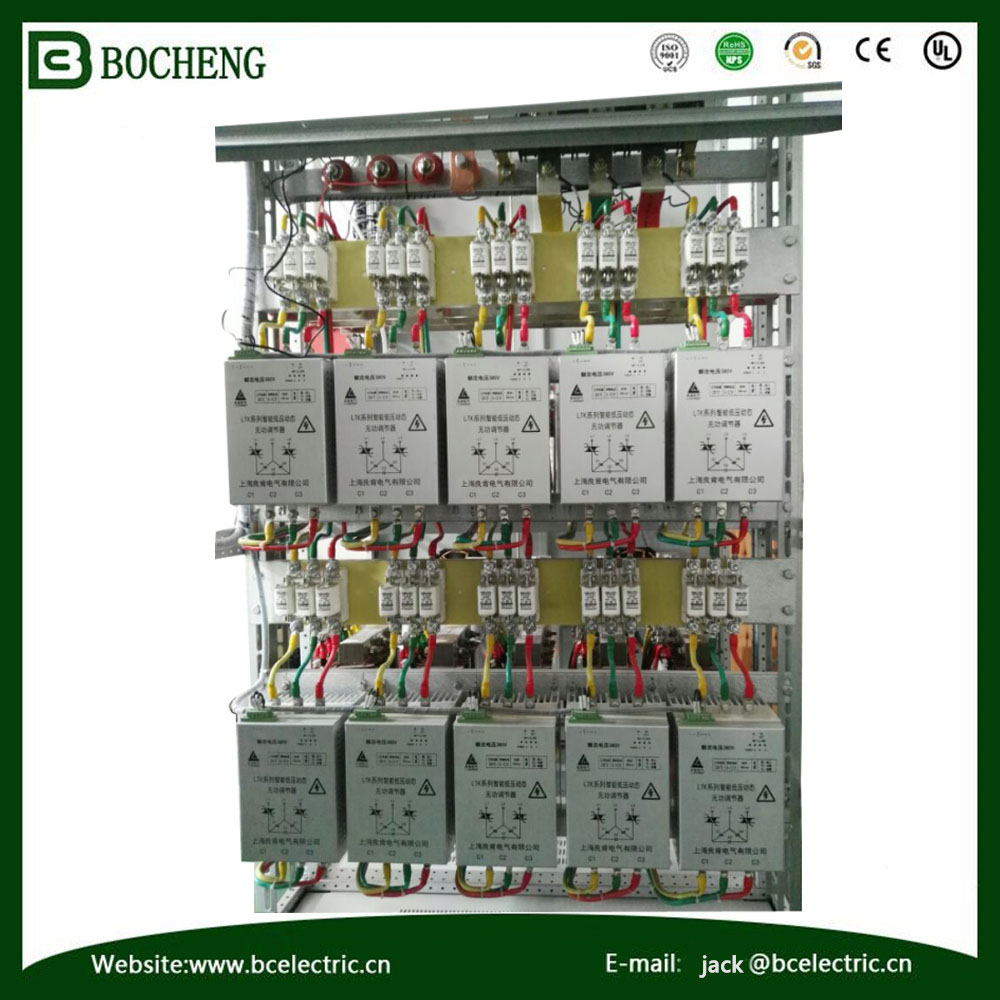 Supply 10KV Reactive Power Capacitor Bank High Voltage Compensation Cabinet