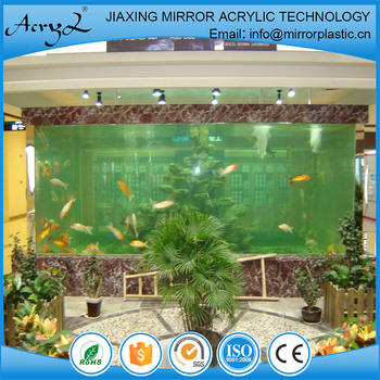 Recyclable,Eco-Friendly Feature and Aquariums Aquarium & Accessory Type large acrylic fish tank