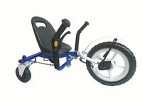 J-2 Plastic seat Unilateral Steering 12 Inch adult tricycle