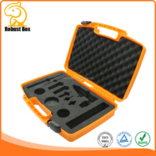 Heavy Duty Hard plastic Injection Molded Case Electronics Instrument Carrying Case with foam