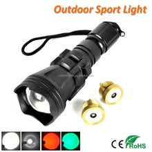 High Range Zoomable CREE XM-L2 & Q5 LED Flashlight Torch