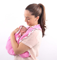 Baby Carrier Wrap Sling, Plush Adult Baby Carrier, Plush Baby Carrier Wrap