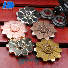 High Quality 608 Bearing Wind Hand Fidgit Spinner Toys Wholesale Cheap Vintage Rose Metal Fidget Spinner