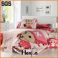 custom print 3D branded bed sheet