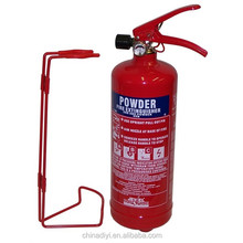 Hot saling plastic and iron dry chemical powder fire extinguisher rack