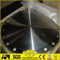 high quality ANSI B16.5 carbon steel forged blind flange-BL Flange Manufacturer