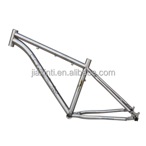 High quality extremely light OEM BB68 road bicycle titanium 29er frame