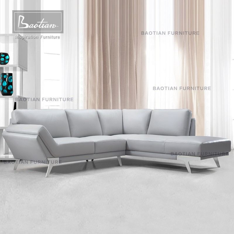 Modern living room furniture cheap l shape sectional sofa for Modern living room chairs cheap