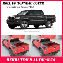 Wholesale 4x4 pickup truck cover tonneau cover for Toyota Tacoma 5' Bed