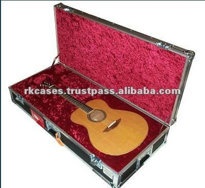 RK wholesale guitar cases -RKGCF03 is Pro Electronic Guitar Case with foam