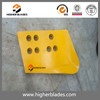 bulldozer undercarriage parts cutting edge D155 for Caterpillar spare parts