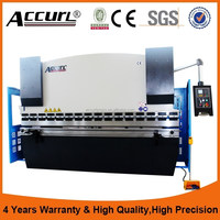 High Quality Anhui Accurl WC67k-250t/3200 hydraulic press brake, nc automatic bending machine