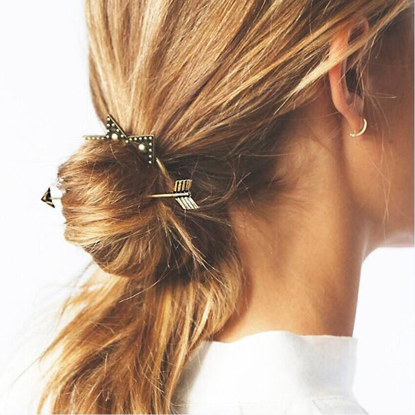 Retro Bohemian Fashion New Style Star Hairpins Hair Clip for Woman