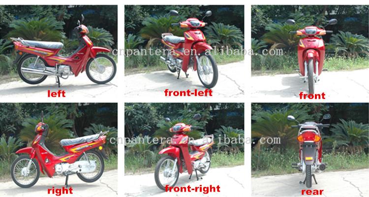 Chongqing Latest Popular Spoke Alloy Wheel 110cc 4-Stroke Motorcycle