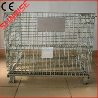 foldable galvanized welded wire mesh dog cage