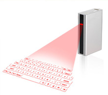 Mini Wireless Virtual Keyboard F3 Laser Projection Keyboard Portable Keyboard for Android Smart Phone Tablet PC Notebook