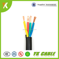 Housing/industry insulated flexible electrical 4mm 6mm 4 core 10mm PVC cable