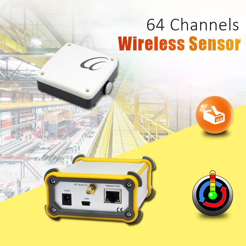 G7-TM Up to 64 wireless Sensors waterproof temperature sensor enclosure