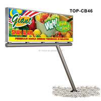 picture frames outdoor advertising led display board