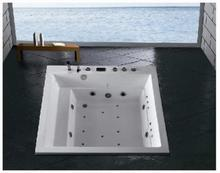 in-laid massage bathtub