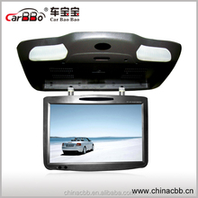 2015 19 inch DVD FLIP down roof mounted monitor with VGA port