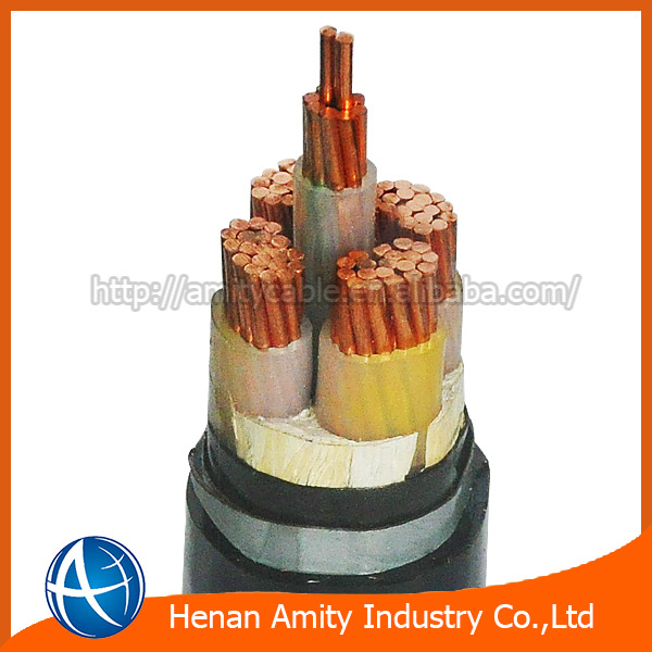 0.6/1kv cu xlpe/sta/pvc power cable manufacture and supplier in China