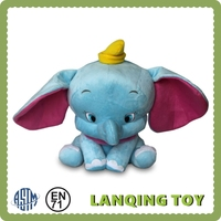 Hot Selling Custom Made Elephant Cartoon Character Plush Toys