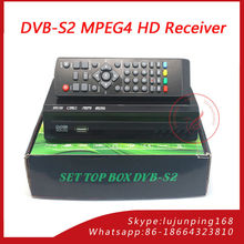 Digital FTA Satellite TV Receiver 1080p Full HD DVB-S2 MPEG 4 FTA Set TOP Box