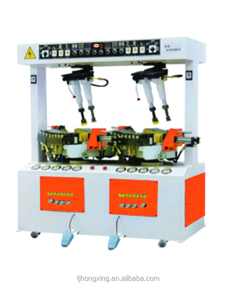 Long Men Walled Shoe Sole Attaching Press Machine