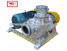 dry sand rubber lined slurry pump dry rubber centrifugal pump