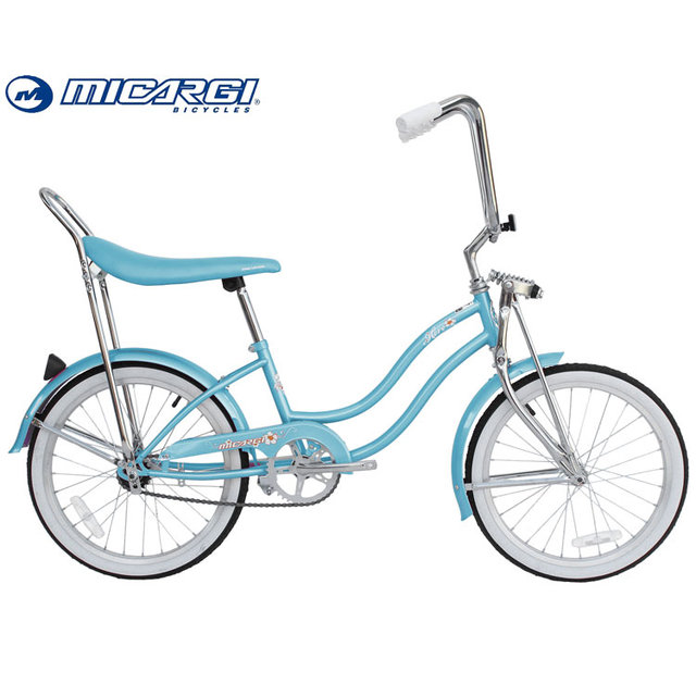 Micargi 20 inch wholesale Lowrider Cruiser Bike HERO Lady Bicycle Springer Fork