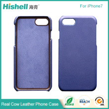 Real Cow Leather Protective Shell 5 Inch Phone Case