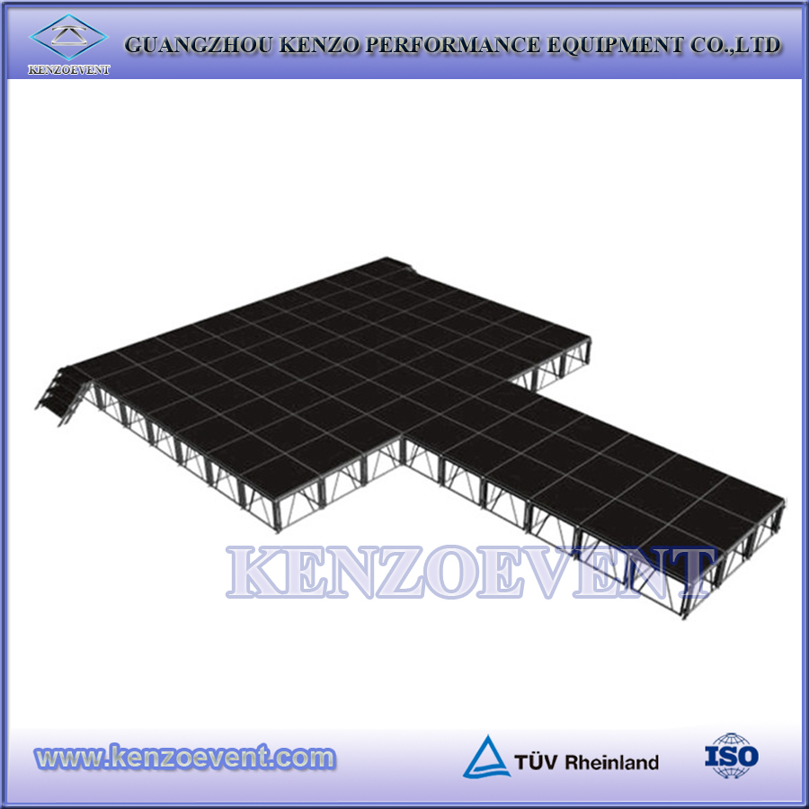 2016 Multi Shape Stage Setup, Event Stages for Sale
