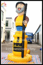 Outdoor large inflatable old men models for event,advertising giant holland cartoons for sale
