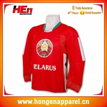 Italian Ink Manufacture Ice Hockey Jersey,Plain Ice Hockey Uniform With Free Design