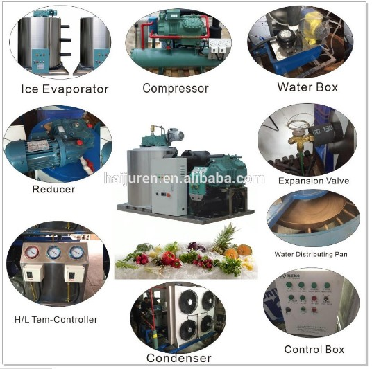 Seawater Flake Ice making Machine for Fisherman