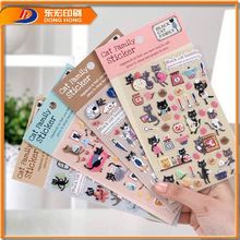 Promotional Funny Sticker World,Self-Adhesive Paper Sticker