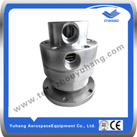 Air rotary joints for rubber molding machine