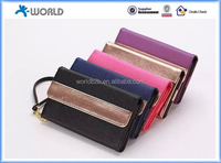 "cross texture Universal Wallet Leather Case Cover for 4.5-5.5"" inch mobile phones"