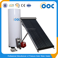 Toilet Heat Pipes Split Pressurized Solar Water Heater System