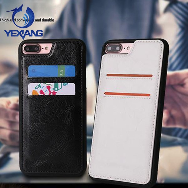 with card slot leather cover anti gravity case for iphone 7 plus nano tec antigravity phone cover