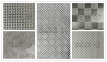 sus 201 embossed steel sheet for build material