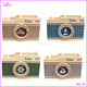 Pen Pencil Pot Holder Case Boxes Organizer Ocean Winds Camera Pattern Sundries Storage Box
