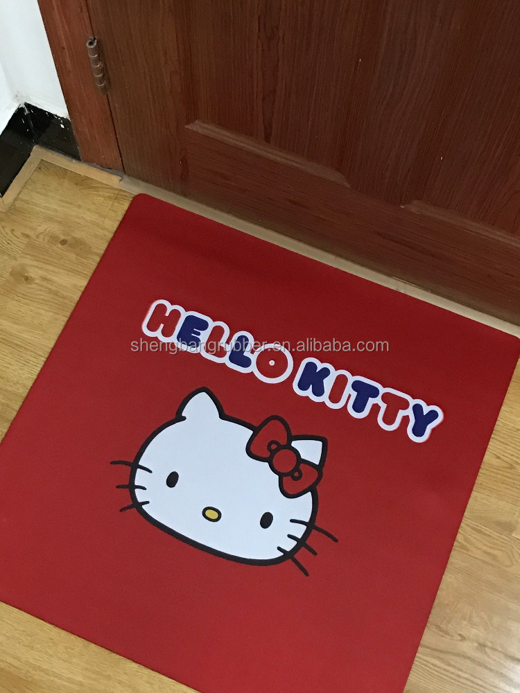 Hot Sale Promotional custom size Wholesale Baby Play rubber Floor Mat for Baby