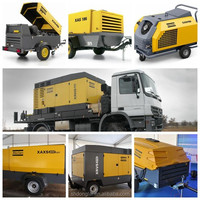 Outstanding Performance Portable Diesel Air Compressor Atlas Copco