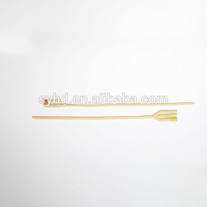 Disposable Medical Latex Foley Catheters(100% Silicone Coated)