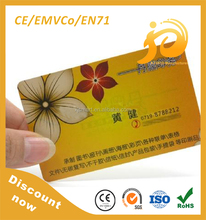 Low cost pvc smart card with high quality