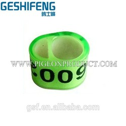 with chips racing pigeon band icom pigeon ring customized combenation belgium pigeon rings for sale