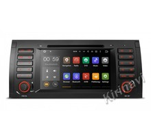 Kirinavi WC-BW7018 Android 7.1.1 car audio dvd player gps multimedia system for bmw e39 1995-2003 navigation with bluetooth